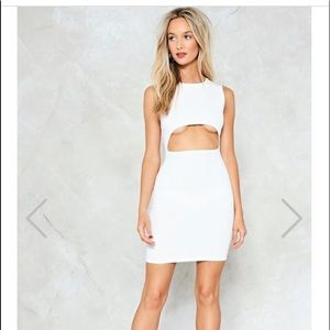 NWT Nasty Gal Cut-Out of this World Bodycon Dress